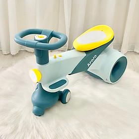 Xe lắc cao cấp Aroio của Holla, màu siêu đẹp, thiết kế bo tròn an toàn cho trẻ