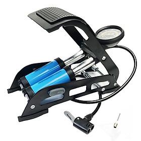 Bơm đạp chân đa năng 2 piston - Bơm hơi dùng cho ô tô, xe máy, bơm phao, bóng
