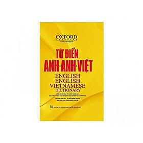 [Download Sách] Từ Điển Oxford Anh - Anh - Việt ( hơn 350000 mục từ được chọn lọc và 85 phụ lục bằng tranh đặc sắc ) ( tặng kèm bút chì dễ thương )