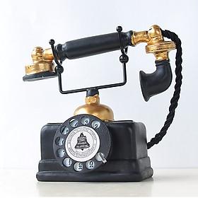 Mô hình Điện thoại bàn giả cổ Vintage