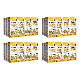 Thùng sữa nước Nutricare Care 100 Gold - phát triển toàn diện cho trẻ từ 1 tuổi (180ml x 48 hộp)