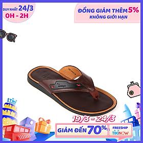 Dép Nam Da Bò Cao Cấp TOMOYO TMD09002