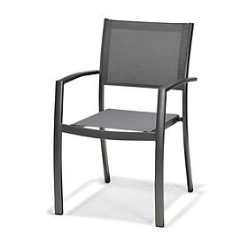 Ghế Ngoài Trời Ragusa Khung Nhôm 58x55x85cm JYSK