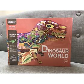 MIDEER Huge Animals dinosaur world - bộ xếp hình khổng lồ thế giới khủng long 280 miếng ghép