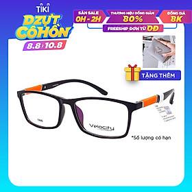 Gọng kính, mắt kính chính hãng VELOCITY VL36458 011 - Tặng 1 ví cầm tay (màu ngẫu nhiên)