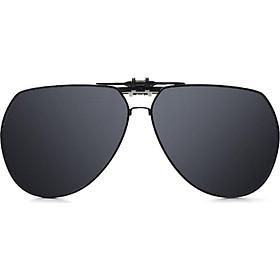 Blue (Bluekiki) HD polarized myopia sunglasses clip driving mirror sunglasses clips unisex J7001 mercury tablets
