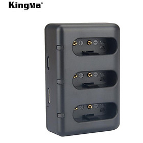 Sạc ba Kingma for Sony NP-BX1 – Hàng chính hãng