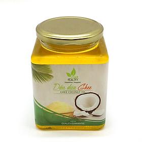 Dầu dừa Ghee VietHealthy 500ml - cung cấp hàm lượng phong phú các loại vitamin A, D, E và K và nhiều loại khoáng chất (canxi, phốt pho, magie..) có lợi cho hệ miễn dịch, tim mạch, não và xương khớp
