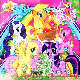 Tranh ghép gỗ 100 mảnh - Ngựa Pony