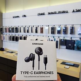 Tai nghe Samsung AKG giắc cắm Type C cho máy Note 10, Note 20, S20, S21 - Hàng chính hãng