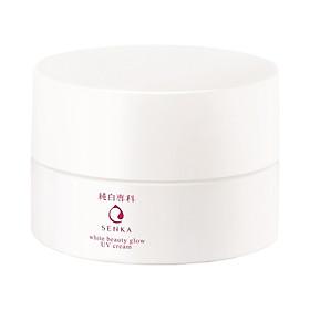 Kem Dưỡng Sáng Da Ban Ngày Senka White Beauty Glow UV Cream