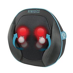 Gối massage USA công nghệ Shiatsu GEL 3D điều khiển từ xa, kèm nhiệt và hồng ngoại HoMedics SGP-1100H-EU nhập khẩu USA
