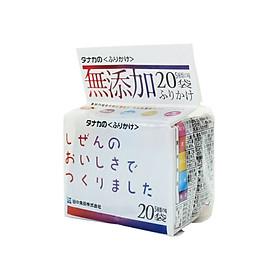 Gia vị rắc cơm 5 vị Tanaka không chất phụ gia 40g (5 loại x 4 gói)