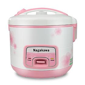 Nồi Cơm Điện Nagakawa NAG0113 (1.8 Lít) - Hồng - Hàng chính hãng