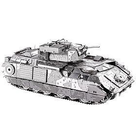 Mô Hình Lắp Ráp Kim Loại Piececool P041-S - Xe Tăng M2A2 Bradley