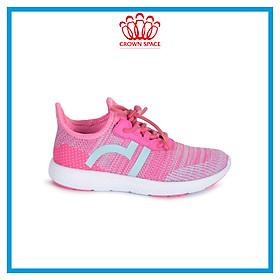 Giày Thể Thao Bé Trai Bé Gái Đi Học Siêu Nhẹ Crown Space UK Sport Shoes CRUK8022 Cho Trẻ em Cao Cấp Êm Thoáng Size 28-35/2-14 Tuổi