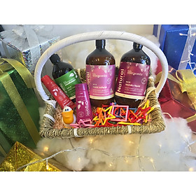 Set quà tặng Happy Child (Spearmint & Orange Wash, Paw Paw Balm, Moisture Rich Body Lotion, Laundry Liquid & Softerner)