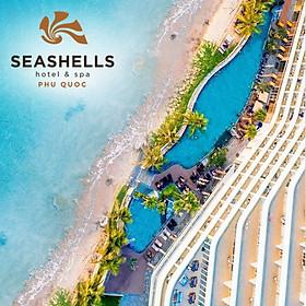 Gói 4N3Đ Seashells Hotel & Spa 5* Phú Quốc - Buffet Sáng, Xe Đón Tiễn Sân Bay, Hồ Bơi, Bãi Biển Riêng, Dành Cho 02 Người Lớn Và 02 Trẻ Em Dưới 06 Tuổi