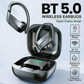 Tws Bluetooth 5.0 Earphones Wireless Headphones 258 Sport Earbuds Gaming Headsets With 300mah Charging Case
