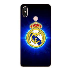 Ốp lưng dẻo cho điện thoại Xiaomi Mi Max 3 - Clb Real Madrid 01