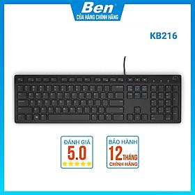 Bàn phím có dây Dell KB216 USB - Hàng Chính Hãng