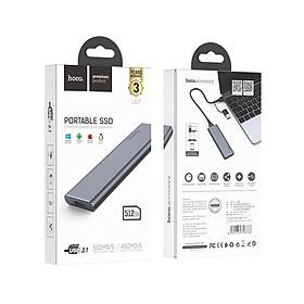 Ổ Cứng Di Động Cao cấp Hoco UD7 - 512GB - Hàng chính hãng