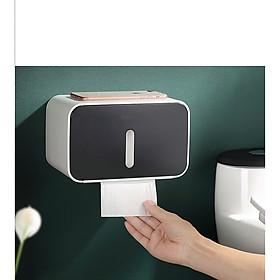 hộp để giấy vệ sinh dán tường nhà tắm eco tiện dụng