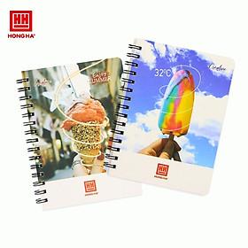 Sổ lò xo 200 trang A5 Hồng Hà Creative (4121)