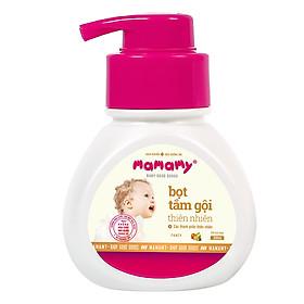 Bọt Tắm Gội (Sữa Tắm Gội) Thiên Nhiên Siêu Kháng Khuẩn An Toàn Cho Bé Mamamy Hương Fancy (200ml)