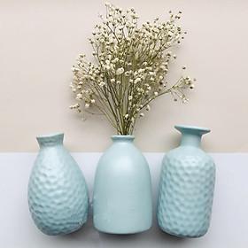 Set 3 Lọ hoa gốm sứ cao cấp