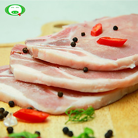 [Chỉ Giao HCM] - Cotllet heo porkloin bone in 1kg