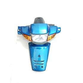 bộ đầu đèn mặt nạ cho xe wave 110 thái tặng bao tay