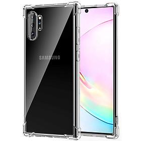 Ốp Lưng Case TPU Dẻo Chống Sốc Dành Cho Samsung Galaxy Note 10 Plus (Trong Suốt)