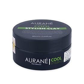 Sáp tạo kiểu tóc nam cứng mờ Aurane Cool Stylish Clay 80ml