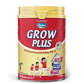 HỘP SỮA BỘT  VINAMILK DIELAC GROW PLUS 1+ 900G (CHO TRẺ TỪ 1 - 2 TUỔI)