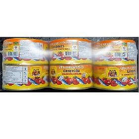Combo 6 hộp cá nục sốt cà Ba Cô Gái Thái Lan ( 190g / hộp )