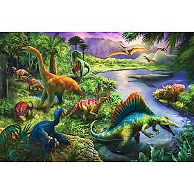 Tranh ghép hình chính hãng TREFL 13214 - 260 mảnh Khủng long Dinosaurs (jigsaw puzzle )