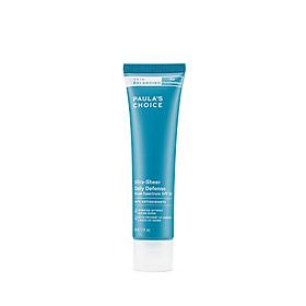 Kem Dưỡng Ban Ngày Siêu Bảo Vệ Và Cân Bằng Da Paula's Choice Skin Balancing Ultra - Sheer Daily Defence SPF 30 - 60ml