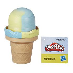 Đồ Chơi Đất Nặn Kem Cây Ngọt Ngào - Play-Doh E5332 - Mẫu 1 - Kem Ốc Quế Xanh Vàng