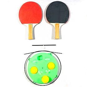 Bộ đồ chơi bóng bàn tập phản xạ Greennetworks