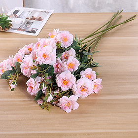 7 Pcs/Set Artificial Flowers Christmas Artificial Branches Natural Artificial Foliage Plants Leaves Flower Front Door