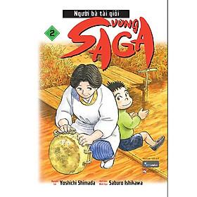 Sách - Người bà tài giỏi vùng Saga – tập 2 (tặng kèm bookmark)