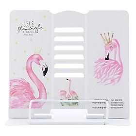 Giá Kẹp Sách, Đỡ Sách, Đọc Sách Chống Cận - Pink Bird