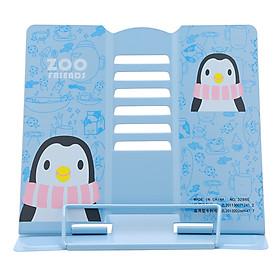 Giá Kẹp Sách, Đỡ Sách, Đọc Sách Chống Cận - Zoo Friends Chim Cánh Cụt