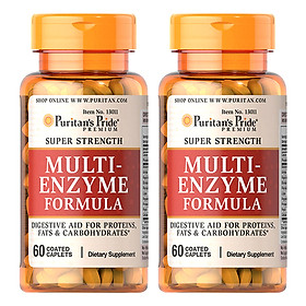 Kết quả hình ảnh cho multi-enzyme puritan's pride 120mg