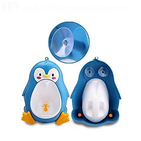 Bồn tập đi vệ sinh hình chim cánh cụt cho bé.