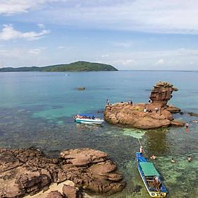 Tour 3 Đảo Phú Quốc: Hòn Móng Tay - Hòn Dăm Ngang - Hòn Mây Rút, Câu Cá & Lặn Ngắm San Hô, Đi Về Trong Ngày
