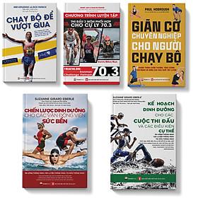 Sách Combo 5 cuốn Chạy bộ Dinh dưỡng Giãn cơ
