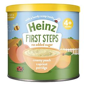 Bột Ăn Dặm Đào Mơ Heinz (240g)