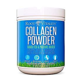 Root Vitality Collagen Powder, Collagen Peptides, Grass Fed, Premium Quality, Collagen Protein, Pasture Raised, Easily Dissolves, Keto & Paleo Friendly, Non-GMO, 300 Grams